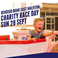 Bendigo Bank East Malvern Charity Race Day at Caulfield