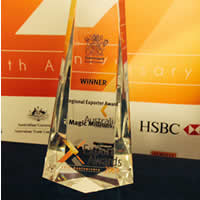 Magic Millions wins Regional Exporter of the Year Award