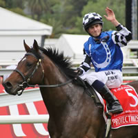 100,794 people witness Protectionist win 2014 Melbourne Cup at Flemington