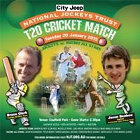 Jockeys all the rage for National Jockeys Trust Charity T20 tomorrow