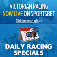 Live Victorian racing now available at online bookmaker Sportsbet.com.au