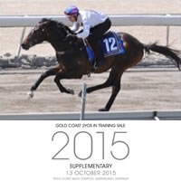 2015 Magic Millions Gold Coast 2YOs in Training Sale commences tomorrow