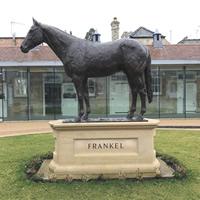frankel statue