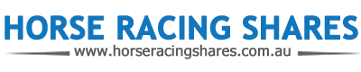 horse racing shares logo
